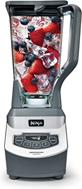 Ninja BL660 Professional Countertop Blender with 1100-Watt Base, 72 Oz Total Crushing Pitcher and (2) 16 Oz Cups for Frozen D