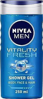 Nivea For Men Vitality Fresh Shower Gel, 250ml