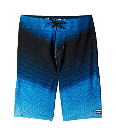Billabong Kids Fluid Pro Boardshorts (Big Kids) (Blue) Boy