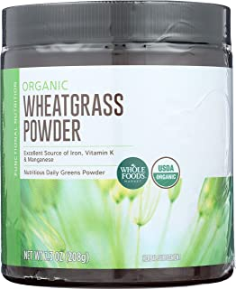 Whole Foods Market, Organic Wheatgrass Powder, 7.3 oz