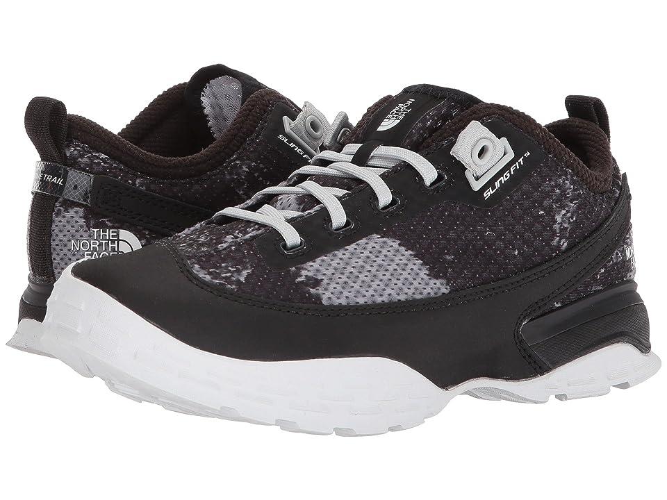 The North Face One Trail (TNF Black Camo Print TNF White) Women s Shoes 0541b9ec9e9