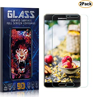 CUSKING Galaxy A9 Star Screen Protector Tempered Glass, HD Shock Absorbent Screen Protector Film for Samsung Galaxy A9 Star, Easy Installation, 2 Pack
