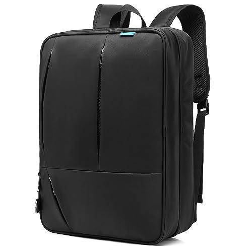 CoolBELL Convertible Messenger Bag Backpack Shoulder bag Laptop Case Handbag  Business Briefcase Multi-functional Travel 8e4c8753910b0