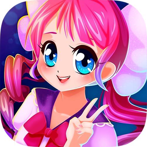 Princess Hawaii Girls - Anime Dress Up Game: Mode Spiele für Designer, wo man Mädchen wie Prinzessinen anziehen, schminken, ankleiden, Frisuren im Friseursalon testen, Kleider entwerfen muss