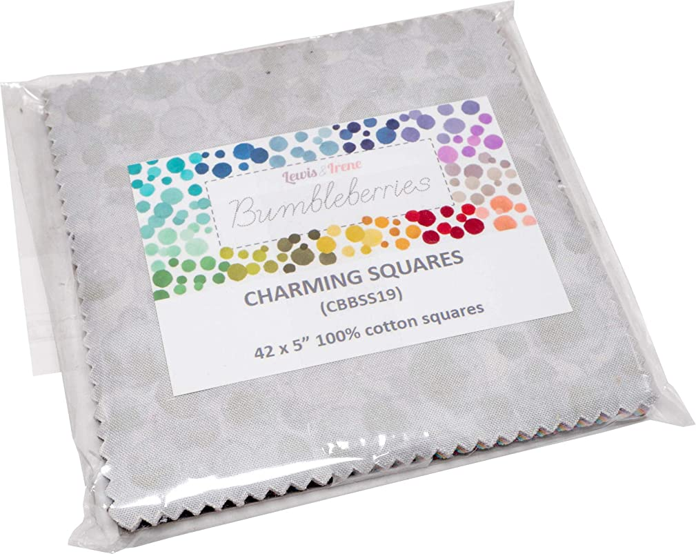 Bumbleberries Spring/Summer 2019 Charming Squares 42 5-inch Squares Charm Pack Lewis & Irene