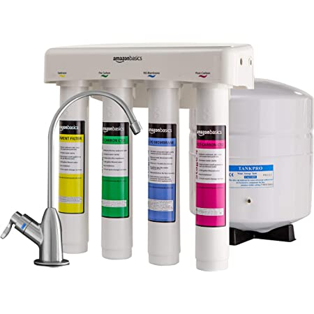 Amazon Basics 4-Stage Reverse Osmosis Home Drinking Water System