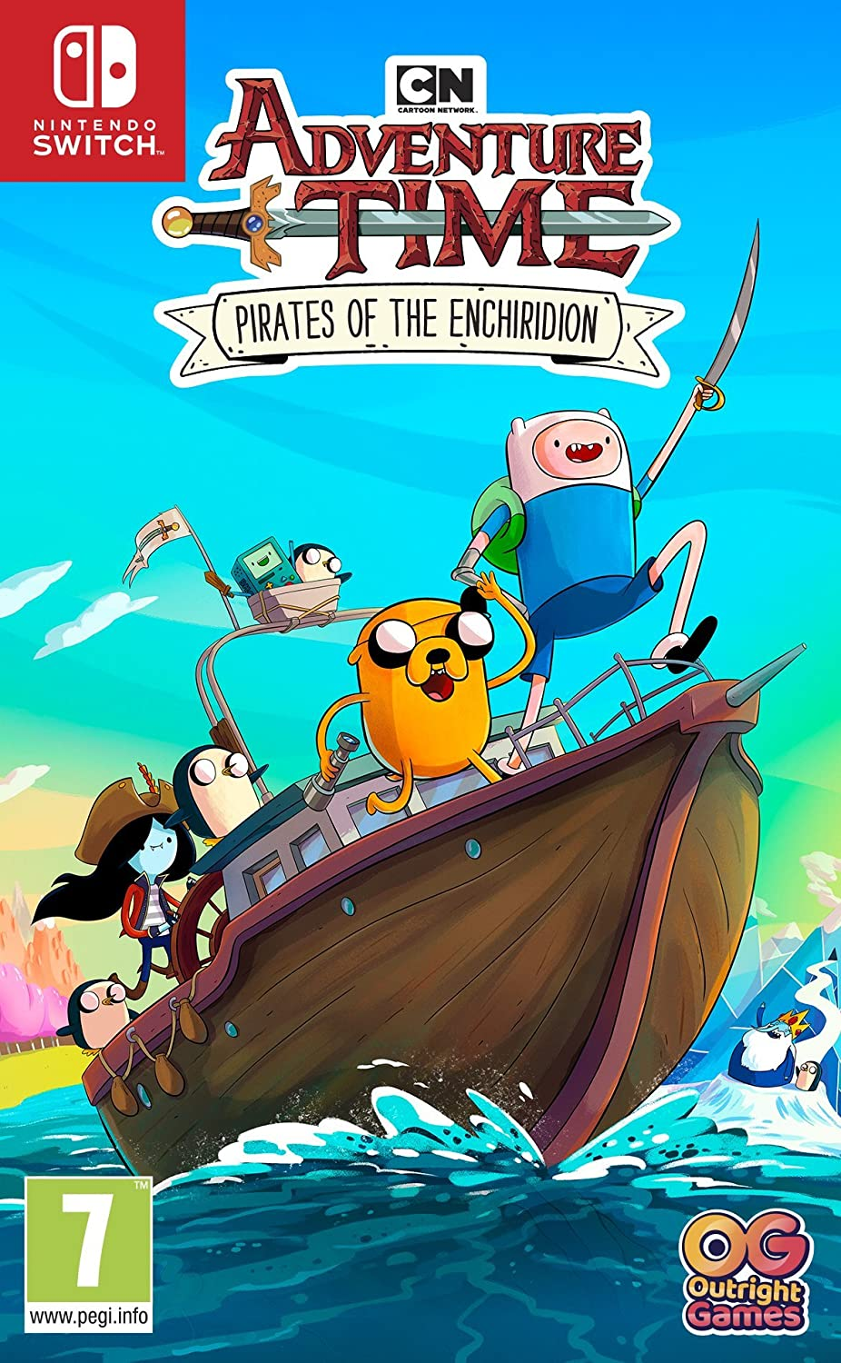 Amazon Com Adventure Time Pirates Of The Enchiridion Xbox One Video Games