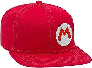 mario and luigi flat bill hats