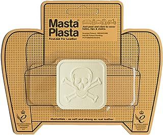 MastaPlasta reparatiepatches voor leer, ivoorkleurig, maat/design naar keuze voor banken, autostoelen, handtassen, jassen ...