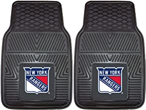 Fanmats 10474 NHL New York Rangers Front Row Vinyl Heavy Duty Car Mat - 2 Piece