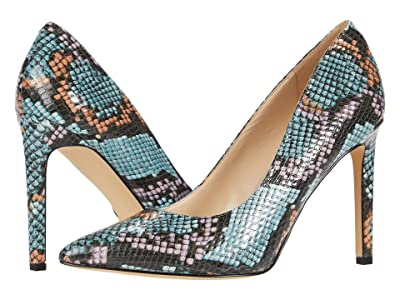 Nine West Tatiana Pump (Blue Multi) High Heels