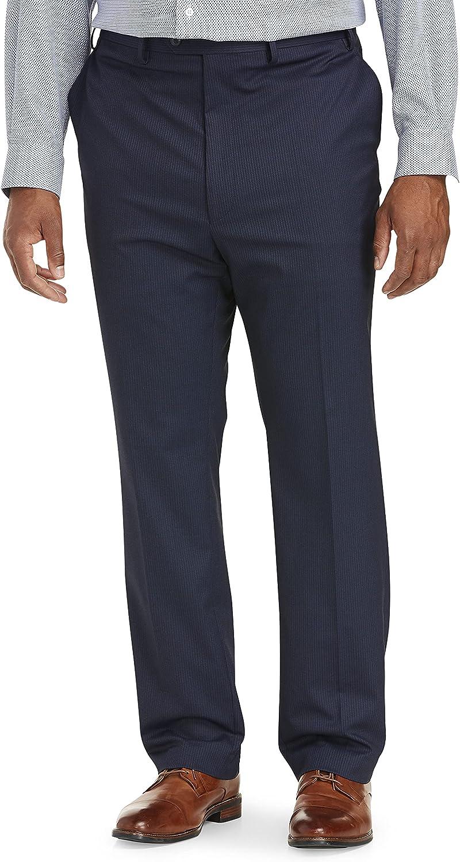 Tallia Orange Pin Stripe Suit Pants, Navy