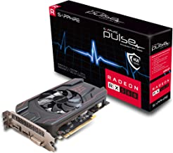 Sapphire 11267-18-20G Radeon Pulse RX 560 4GB GDDR5 HDMI/DVI-D/DP OC (UEFI) PCI-E Graphics Card