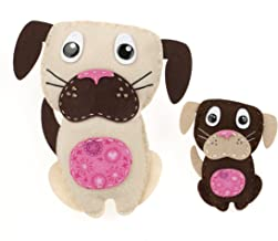 American Girl Crafts Dog Sew and Stuff Activity Kit, DIY Dog Stuffed Animals