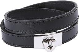 Salvatore Ferragamo - Leather Wrap Bracelet