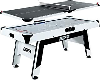 ESPN Sports Air Hockey Game Table: Indoor Arcade Gaming Set with Electronic Score System and Sound Effects - Available in ...