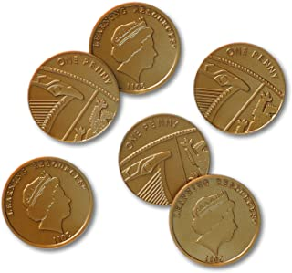Learning Resources One Pence Coins, Set of 100