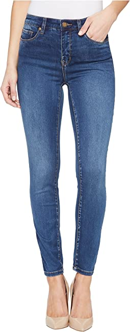 "Tribal Five-Pocket Ankle Jegging 28"" Dream Jeans in Retro Blue"