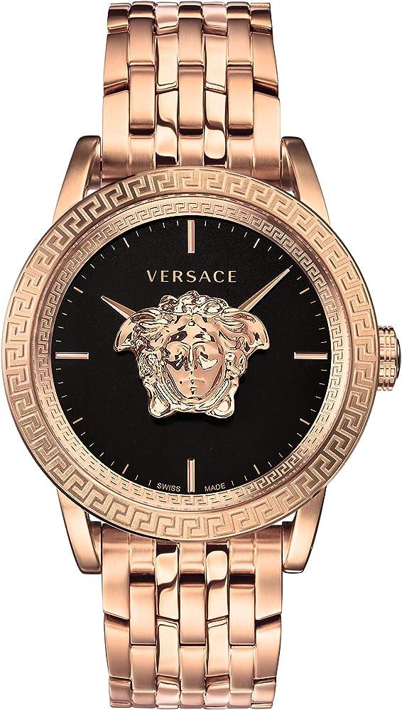 Versace orologio da uomo al quarzo, in acciaio inox VERD00718