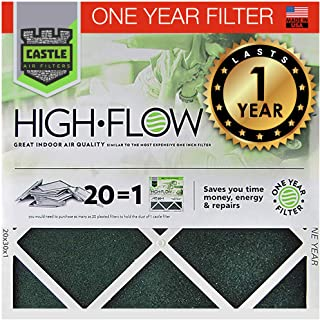 """Best No Toil Castle, One-Year HVAC Furnace Filter, 16"""" x 20"""" x 1"""" Review"""