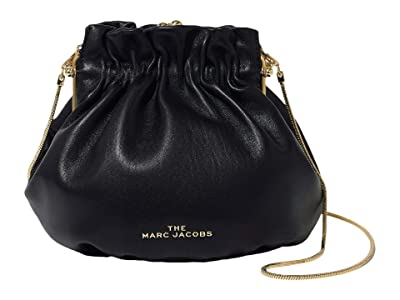 Marc Jacobs The Soiree Crossbody (Black) Handbags