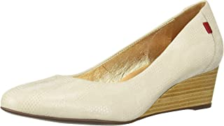 MARC JOSEPH NEW YORK Womens Womens Genuine Leather Made in Brazil Cooper Wedge