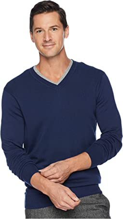 Classic Solid V-Neck Sweater. Like 5. Perry Ellis 1c6e151f8