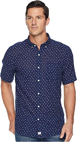Dock Street Short Sleeve Slim Murray Shirt
