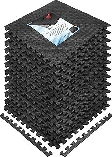 REALIKE Träning skummatta skyddande golvmatta EVA pussel gummikuddar ihopkopplade plattor gymmattor för fitness sport trän...