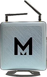 MTRON Mini PC (Intel Pentium Quad-core/4GB/500GB/Windows 10 Pro), Silver