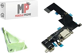 MobilePrime White Charging Port Replacement Compatible for iPhone SE (A1723, A1662, A1724)
