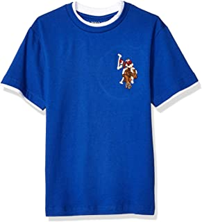 U.S. Polo Assn. Boys Short Sleeve Classic Crew Neck T-Shirt Short Sleeve T-Shirt