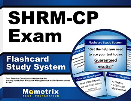 Shrm-cp Exam Flashcard Study System: Shrm Test Practice Questions