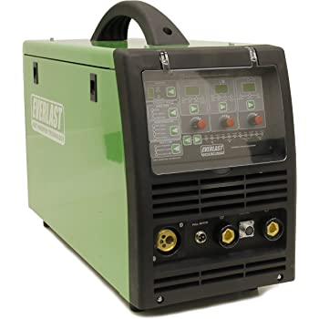 2019 PowerMIG 275P 275 amp PULSE Synergic MIG STICK WELDER EVERLAST DIGITAL