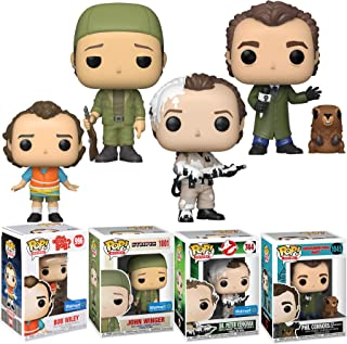 The Man Icon Comedy Star Bill Murray Pop! Figure Exclusive Marshmallow Ghostbusters Bundled with Stripes + Groundhog Day P...