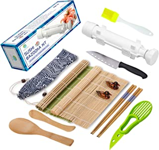 Sushi Bastelset – All in One Sushi Bazooka Maker mit Bambu