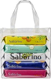 【Amazon.co.jp限定】 サボリーノ(saborino) サボリーノ シートマスク 大容量 5種セット フェイスマスク 大容量×5個
