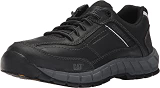 Men's Streamline Leather / Black Work Shoe