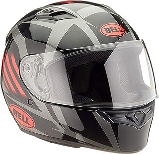 Capacete Bell Helmets Qualifier Blaze Gloss Black Red Titanium 58
