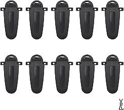 VBLL 10Pcs KBH-12 Belt Clip for Kenwood TK3360 TK3173 TK-3170 TK3160 TK3140 TK-2360TK-2170 TK2160 TK2140 Portable Radio