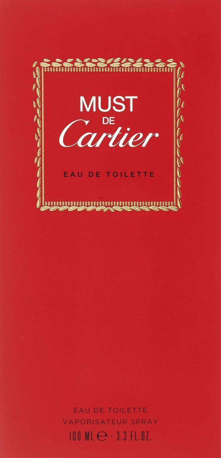 鉱夫コカイン縫うカルティエ CARTIER マストドゥカルティエ 100ml EDT SP オードトワレスプレー