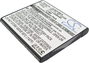 CS Replacement Battery for Casio Camera Exilim EX-EX-S200BK, Exilim EX-S200, Exilim EX-S200BE, Exilim EX-S200BK, Exilim EX-S200EO, Exilim EX-S200PK, Exilim EX-S200SR/ZS10/ZS10BE, Exilim EX-Z