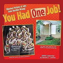 You Had One Job 2019 Wall Calendar