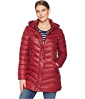 Softshell Puffer Jacket with Removable Hood