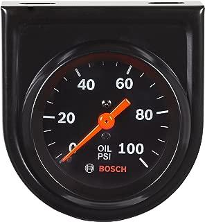 Black Docooler 52mm 2.0 inch LCD 0~120PSI Auto Car Digital Oil Pressure Meter Gauge with Warning Sensor Light