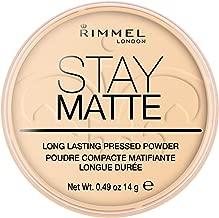 Rimmel London, Stay Matte Pressed Powder, Shade 001, Transparent