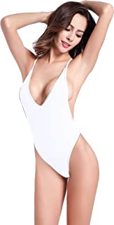 Best white low side bodysuit Reviews