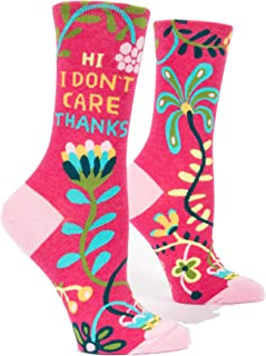 Women's Novelty Crew Socks (fit women's shoe size 5-10)