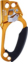 kissloves Climbing Hand Ascender Outdoor Mountaineering Tree Arborist Climbing Rappelling Equip Hand Ascender for 8-12MM Rope Left Right Hand Ascender