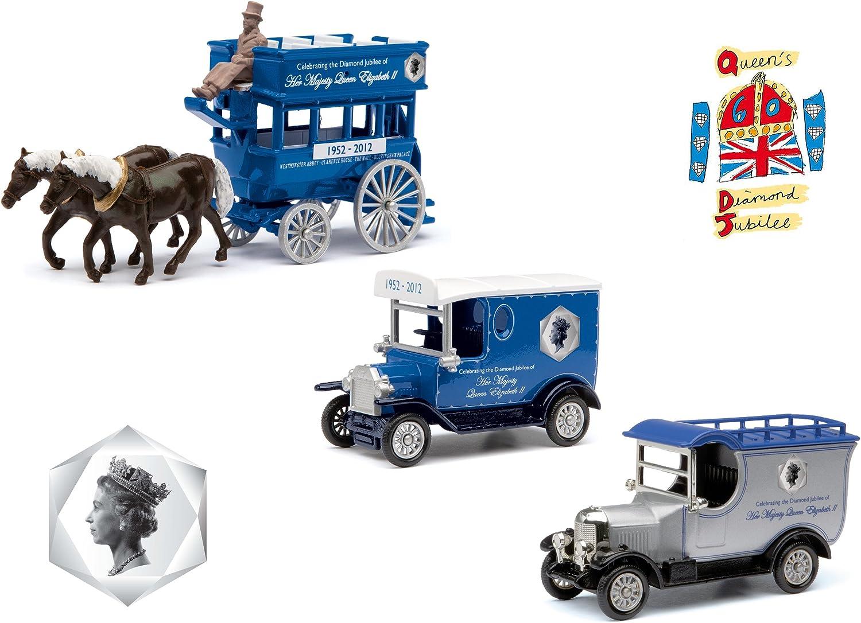 Corgi Diamond Sale price Jubilee Brand new 3 Piece Vehicle Limited Edition Set